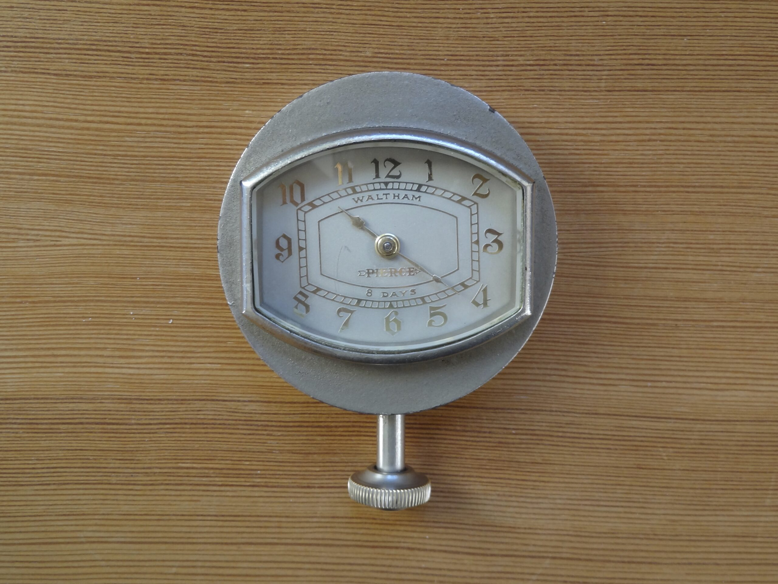 Pierce arrow car clock from Waltham ca 1920